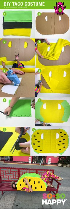 We paired with Jenn Thompson of @merrilyyours to taco bout the BEST DIY COSTUME…