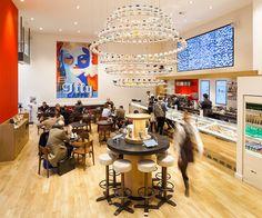 Picture: #Trend #mosaic custom design - #illy #Caffé Regent Street - London - UK - Photos Credits: © Adam Parker - Photographer