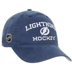 Reebok Tampa Bay Lightning Locker Room Slouch Adjustable Hat