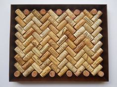 Wine Cork Board Made With 80 Different Wine by KatsWineCorkCrafts