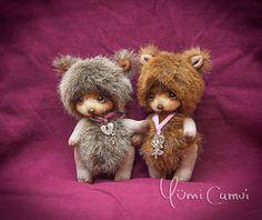 Cute Bear couple Giana and Rocco by By Yumi Camui   Bear Pile
