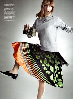 Marie Claire Brazil October 2014   Patricia Beck by Gustavo Zylbersztajn