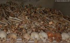 History: In the Genocide, hundreds of thousands of Tutsi were killed by the Hutu. Some of these bodies are shown in the photograph above. Violence erupted in result of favoritism from Belguim-which ruled Rwanda in 1919-of the Tutsi. The Hutu protested against the Tutsi monarchy and soon Tutsi killed one of the Hutu leaders. Fighting broke out, and the Hutu murdered many Tutsi. Around one million people were killed in the genocide.
