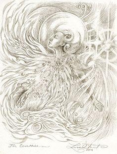 Custom Soul Drawings from Lisa Hunt Art