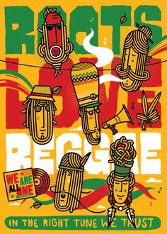 Poster Title: Woodstock Peace Collage Music Poster Print - Size: 24 x 36 inches Reggae Art, Reggae Style, Reggae Music, Dub Music, Festival Posters, Rasta Art, Rasta Lion, Rastafarian Culture, Rasta Party