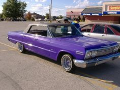 Purple Passion by Perceptor on DeviantArt Chevrolet Ss, Impalas, Chevy Impala, Lowrider, Motor Car, Cars And Motorcycles, Passion, Deviantart, Doors