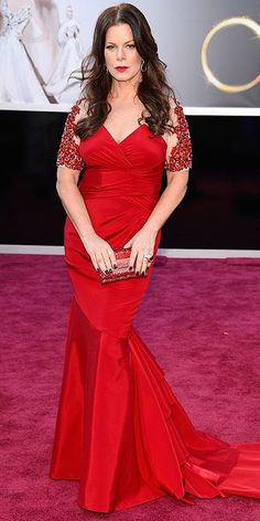"""Marcia Gay Harden. Just realized how naughty her name is. I like it but the """"skin"""" colored fabric on the sleeves could've been better"""