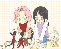 SakuHina so cute