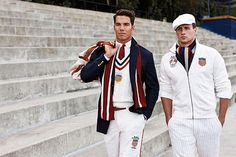 I LOVE our USA Ralph Lauren Olympic Uniforms and the beret!  Thank you Ralph Lauren for all that you give to the USOC ... the United States Olympic Committee receives no government $$$ ... and RL is a huge supporter.  Those senators can STFU who have complained... let them fund the USOC next time!!!!!!!!