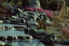 Do It Yourself Hillside Landscape With Waterfalls | eHow.com