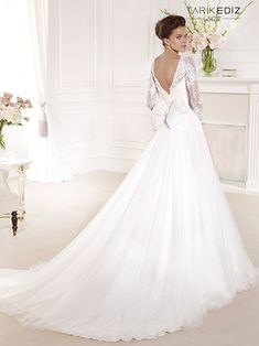 Tarik Ediz Wedding Dresses 2014 Collection - MODwedding