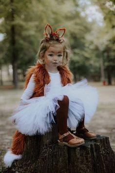 Jupe Tutu Halloween, Fox Halloween Costume, Halloween Rocks, Baby Halloween, Halloween Fashion, Diy Fox Costume, Halloween Carnaval, Halloween Mode, Halloween Ideas