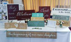 Here we go!! #weddingfair . . . . #wedding #engaged #signs #photographer #create #rustic #weddingideas #weddinginspiration #weddingsigns #instapicoftheday #bride #groom #newbusiness #venue #weddingvenue #homedecor #home #personalised #love #gifts #realwedding #vintage #rusticwedding #handmade #etsygift #excited #instagood #instapicoftheday