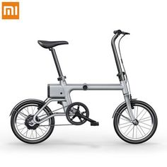 Xiaomi Yunma mini Intelligent Folding Power Assisted Electric Bicycle 14.9KG Lightweight Electric Bicycle 16