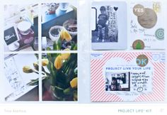last week of January by lifelovepaper at @Studio_Calico - Handbook Project Life #SCofficehours