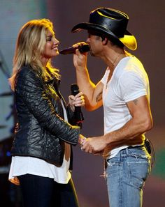 Tim McGraw and Faith Hill have been country music's cutest couple since 1996