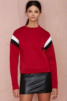 Make a Play Neoprene Sweatshirt - Sale