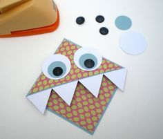Blush Crafts: Monster Bookmark - How To...