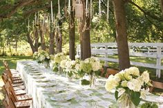 Designer and HGTV host Monica Pedersen shares photos and tips for throwing an eco-inspired, elegant outdoor party.
