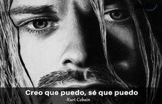 Querer ser otra persona es un desperdicio de la persona que eres. Kurt Cobain Frases, We Remember, I Hope You, Movies, Movie Posters, Film Quotes, Best Quotes, Inspirational Quotes, Best Songs