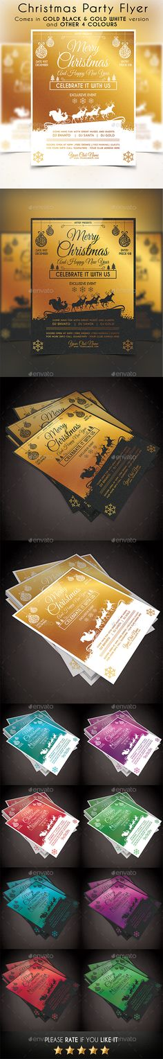 Merry Christmas Flyer Templates Christmas flyer, Flyer template - discount flyer template