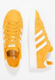 new arrival eeee6 74527 Köp adidas Originals CAMPUS -  sneakers - tactile yellow footwear  white chalk white