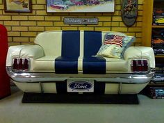 Ford Mustang Couch