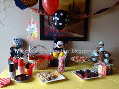 Get Your Crap Together: Mickey Mouse Birthday Party