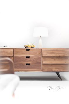 Sideboard , dresser, credenza  Custom made order, measures, colors and materials can be modified  180 cm (70,8) wide, 45 cm (17,7) deep , 70 cm (27,5) tall  - Made entirely in solid oak / walnut board, or lacquered in white on the outside  Processing and built time : 8-12 weeks  More pictures here: https://www.behance.net/gallery/22376317/Sideboard-credenza