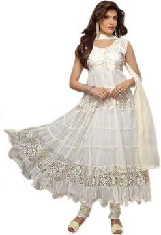 #BuyFromLink --> http://fkrt.it/ve79BNNNNN Brasso #Women's #Embroidered #Semi-stitched #Salwar #Suit #Dupatta #Material #Dress #SalwarKameez #White #Designer #Salwar #Kameez #Chiffon #Dupatta #Awesome #Indianfashion #Gorgeous #look #style  #Shop #Buy #online #india