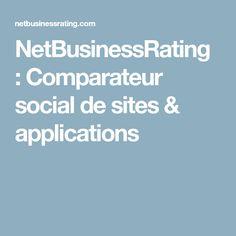 NetBusinessRating : Comparateur social de sites & applications