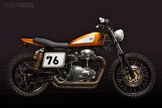 Ton Up Garage W650 - A cool ride from a cool country, cool as in in cool not cold.