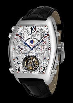 92265efff9cac Franck Muller - Aeternitas - Aeternitas Mega 4 Relogio Quadrado, Relógios  De Luxo, Acessórios