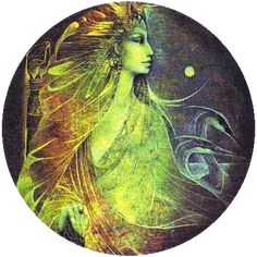 Susan Seddon Boulet - héron - Heron]  « The Marsh King's Daughter » alias Heron Spirit - 1982