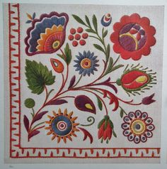 Hungarian Embroidery Stitch Vintage Embroidery Book - Czecho-Slovakian Embroideries via Etsy Hungarian Embroidery, Crewel Embroidery, Vintage Embroidery, Cross Stitch Embroidery, Embroidery Books, Embroidery Tattoo, Embroidery Monogram, Christmas Embroidery, Embroidery Dress