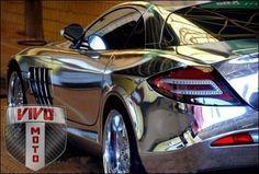 Vivo Motorsports Chrome Vinyl SLR www.VivoMotorsports.com