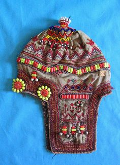 Beaded Hat from Pakistan via Teyacapan on Flickr