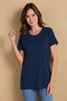 Tiffany Short Sleeve Tee from Soft Surroundings