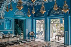 Photography by Henry Wilson -- Narain Niwas Palace Hotel, Kanota Bagh, Narain Singh Road Jaipur – RJ 302004 India http://www.bar-palladio.com/gallery.html