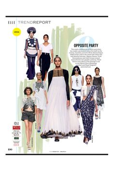 February - Elle India - 2015