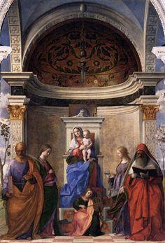 Anna Lucia Almeida Barreto - Interior da Basílica de são Pedro santos e santas São zacarias