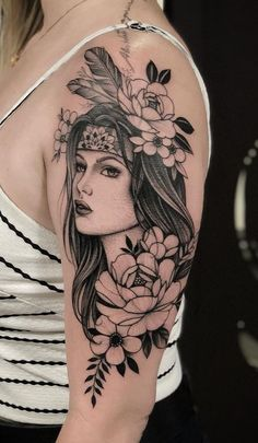 Feminine Tattoo Sleeves, Feminine Tattoos, Sexy Tattoos, Life Tattoos, Body Art Tattoos, Sleeve Tattoos, Tatoos, Tribal Art Tattoos, Native Tattoos