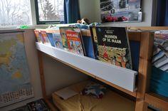 IKEA Hackers: High sleeper bookshelf (KURA+RIBBA)