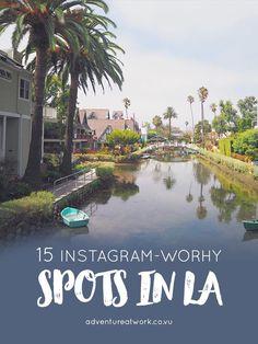 15 Instagram-worthy spots in LA // Adventure at Work