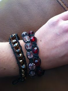 Leather Bead Braclets