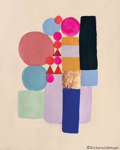 art, design, illustration, geometric, copper,collage art