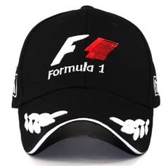 Buy Men Formula 1 Baseball Caps Black F1 3d Embroidery Hats Motorcycle  Racing Moto G online  ef37709eb0f
