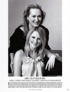 I had no idea she was Meryl Streep's daughter