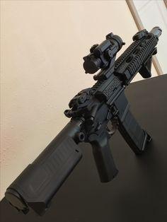 Aero Precision AR15 Pistol 10.5 first build