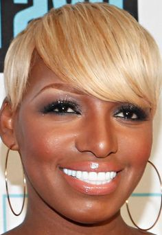 NeNe Leakes Layered Razor Cut - Short Hairstyles Lookbook - StyleBistro